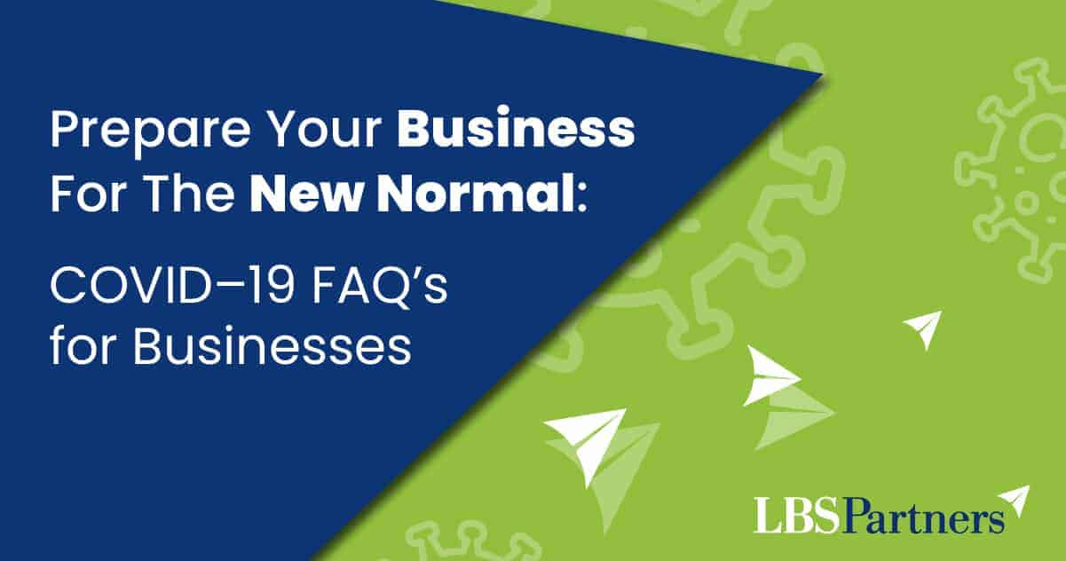 Prepare Your Business For The New Normal